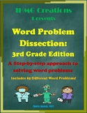 Word Problem Dissection: 3rd Grade Edition (Common Core)