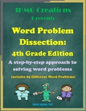 Word Problem Dissection: 4th Grade Edition (Common Core)