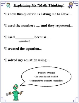 Word Problem Dissection: FREE Sample Edition (Common Core)