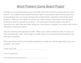 Word Problem Game Board Project