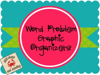 Word Problem Graphic Organizers
