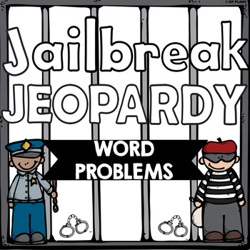 Word Problem Jeopardy Review Game