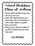 Word Problem Journal 2nd - 4th Grade