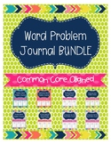 Word Problem Journal BUNDLE