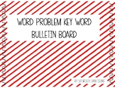 Freebie Word Problem Key Word Sort