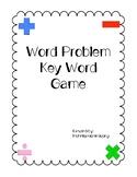 Word Problem Key Word Game