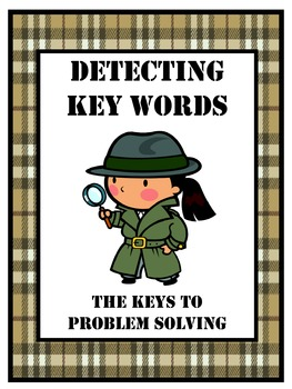 Word Problem Key Words Packet