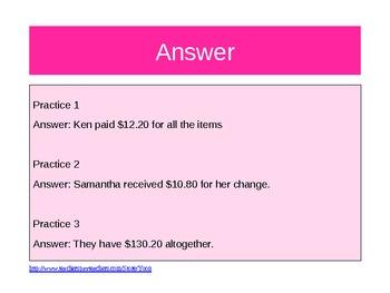Word Problem Made Easy - Grade 4 Decimals