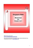 Word Problem Made Easy Worksheet - Division 2 and 3 for Grade 2 and 3