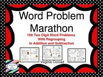 Word Problem Marathon--With Regrouping