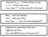Word Problem Math Station