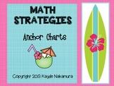 Word Problem Math Strategies - Anchor Charts