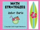 Word Problem Math Strategies - Anchor Charts