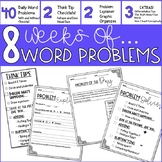 Word Problem Of The Day- Set 1- 3rd Grade