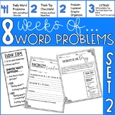 Word Problem Of The Day- Set 2- 4th Grade