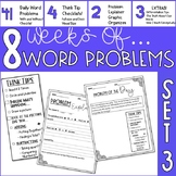 Word Problem Of The Day- Set 3- 3rd Grade