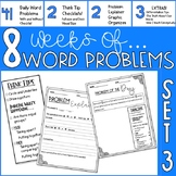 Word Problem Of The Day- Set 3- 4th Grade