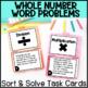 Word Problem Operations Sort & Solve BUNDLE