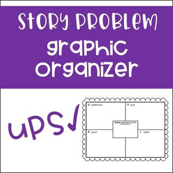 Word Problem Organizer - UPS Check