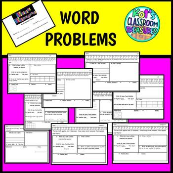 Word Problem Partner Packet 1