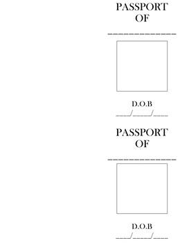 Word Problem Passports: Making word problems fun!