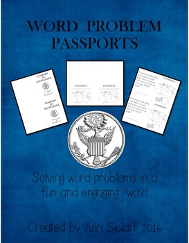 Word Problem Passports: Making word problems fun!