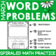 Word Problem Practice- March