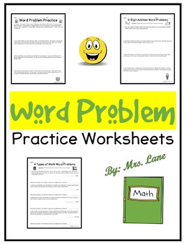 Word Problem Practice Worksheets