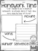 Story Problem Printables and Journal Prompts {Fall Topics}