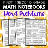 Math Journals: First and Second Gr Word Problems