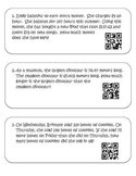 Word Problem QR Task Cards- whole numbers and decimals