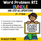 Word Problem Intervention (RTI) BUNDLE