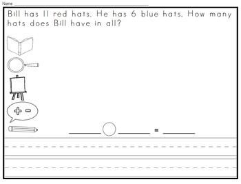 Word Problems Math Intervention