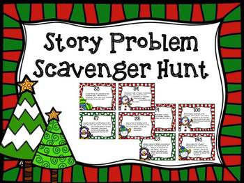 Word Problem Scavenger Hunt