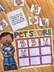 Word Problem Math Station - Donut Store and Pet Store