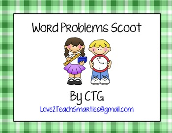 Word Problem Scoot