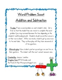Word Problem Scoot - Addition and Subtraction