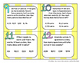 Word Problem Scoot Task Cards (Maths Game) 19 pages