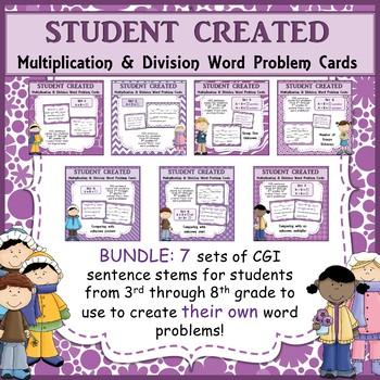 math worksheet : word problem sentence stem starter frames for multiplication and  : Multiplication And Division Word Problems