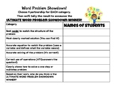 Word Problem Showdown Ballot
