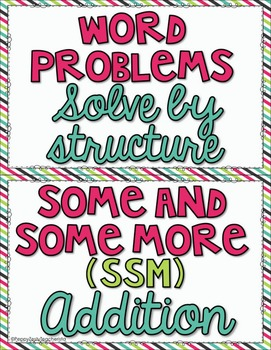 Word Problem: Solve by Structure