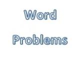 Word Problem Solving Assessment