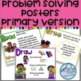 Word Problem Solving Posters using Read, Draw, Write Primary Version