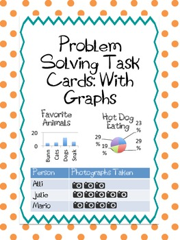 Word Problem Solving Task Cads with Graphs