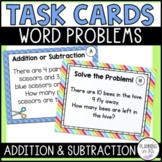 Word Problem Solving Task Cards Addition and Subtraction G