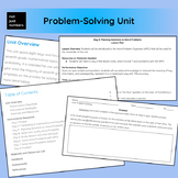 Word Problem-Solving Unit - *Editable*