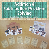 Addition and Subtraction Word Problems: Wanted Numbers