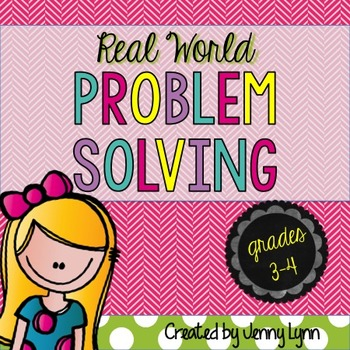 Word Problem Solving Worksheets: All Operations 3rd-5th)(