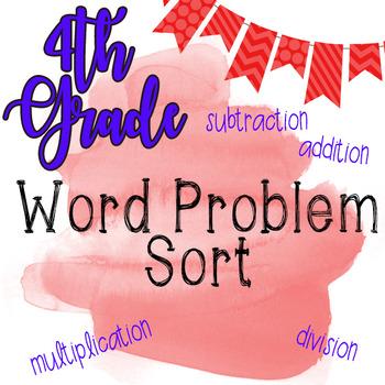 Word Problem Sort