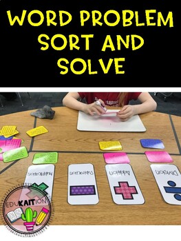 Word Problem Sort and Solve